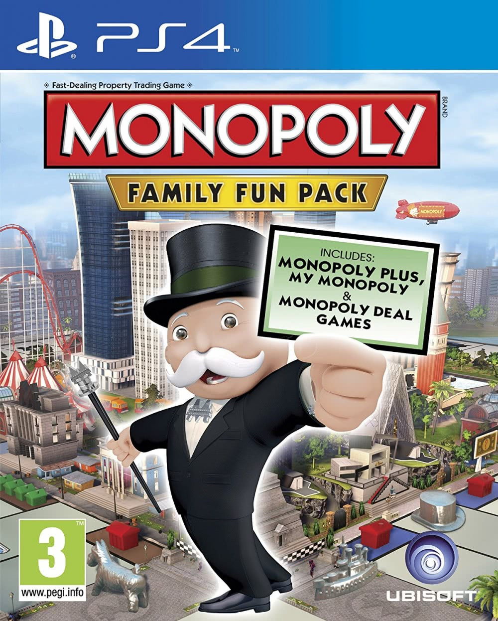 Monopoly Family Fun Pack (русская версия) PS4