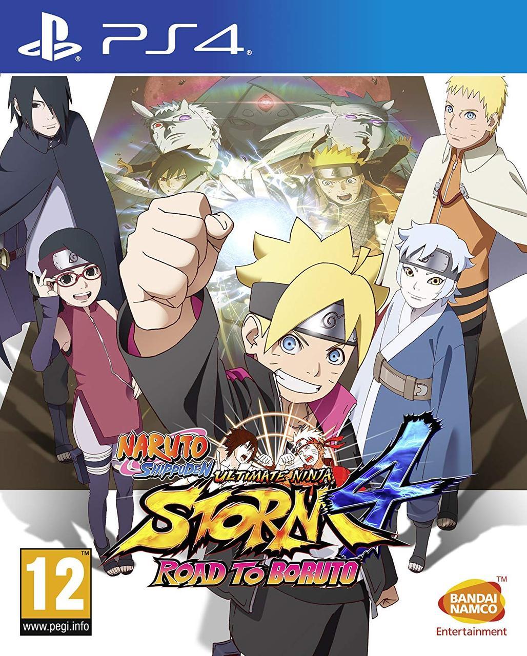 Naruto Shippuden Ultimate Ninja Storm 4 Road to Boruto (російські субтитри) PS4