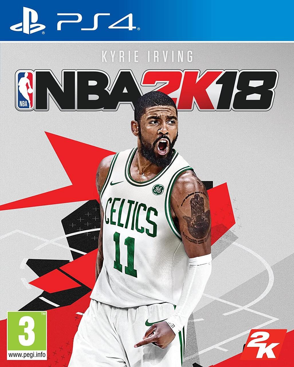 NBA 2K18 (английская версия) PS4