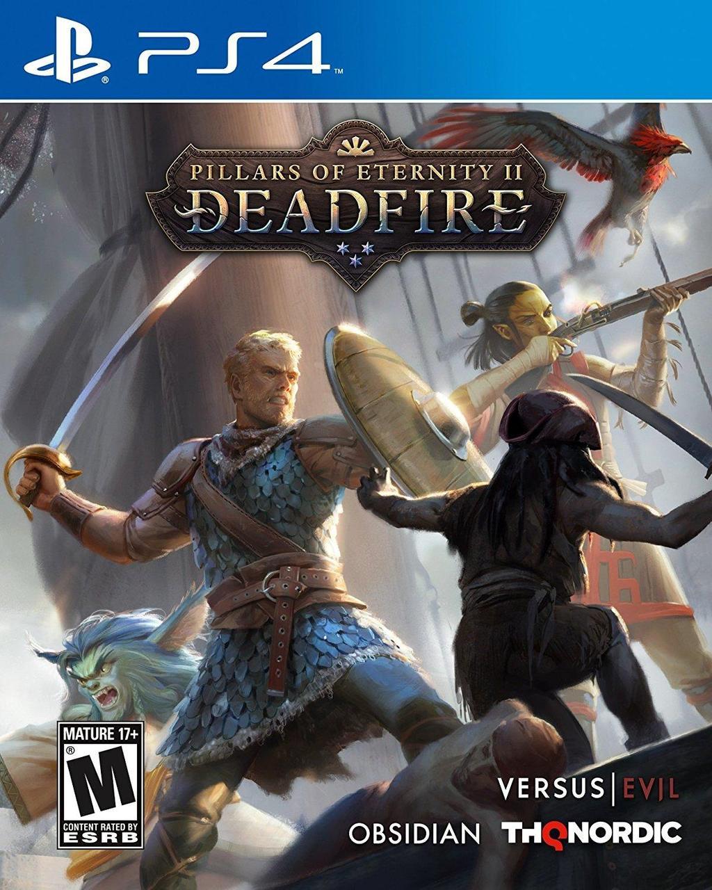 Pillars of Eternity II Deadfire (російські субтитри) PS4
