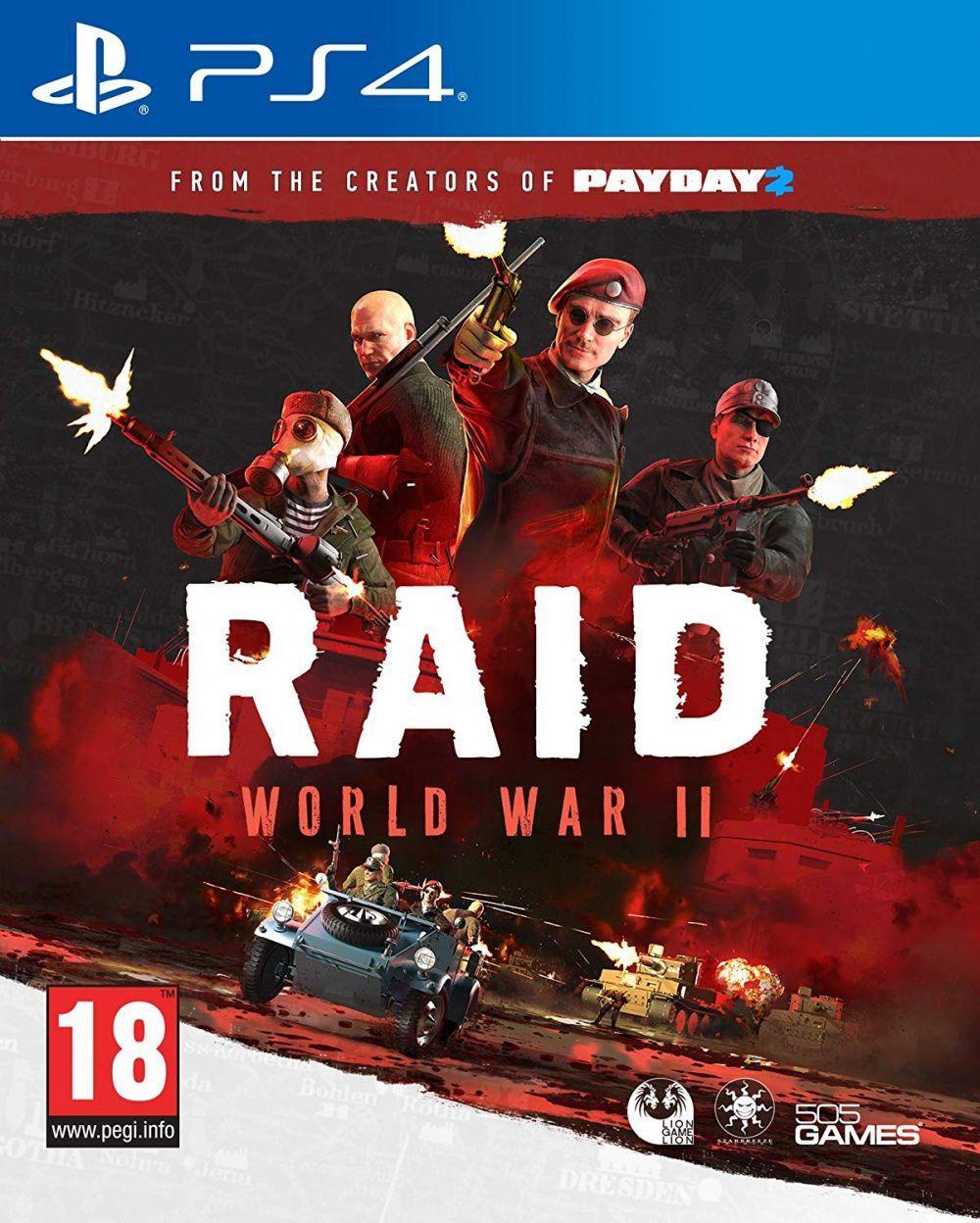 RAID World War II (російські субтитри) PS4