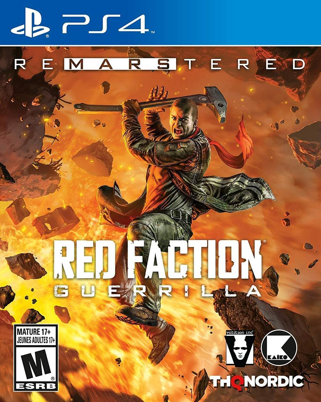 Red Faction Guerrilla ReMarsTered (російські субтитри) PS4