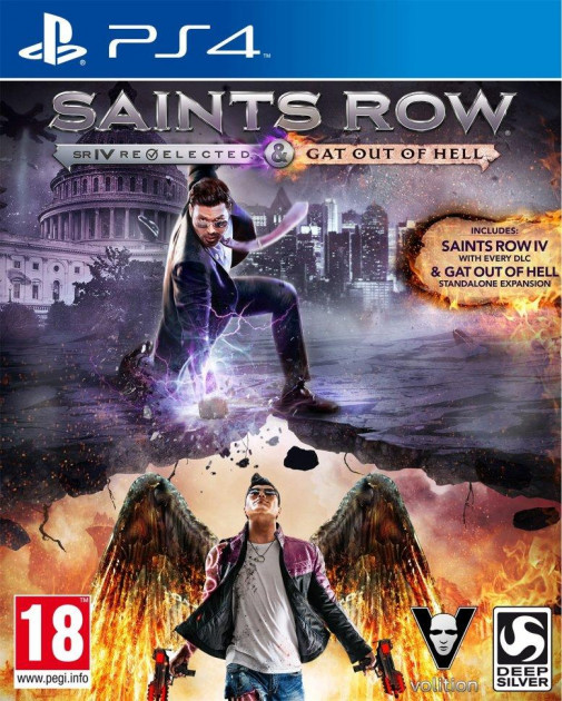 Saints Row IV Re-elected & Saints Row: Gat out of Hell (російські субтитри) PS4