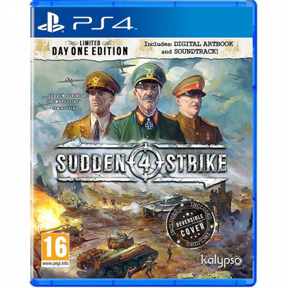 Sudden Strike 4 Limited Day 1 Edition (російська версія) PS4