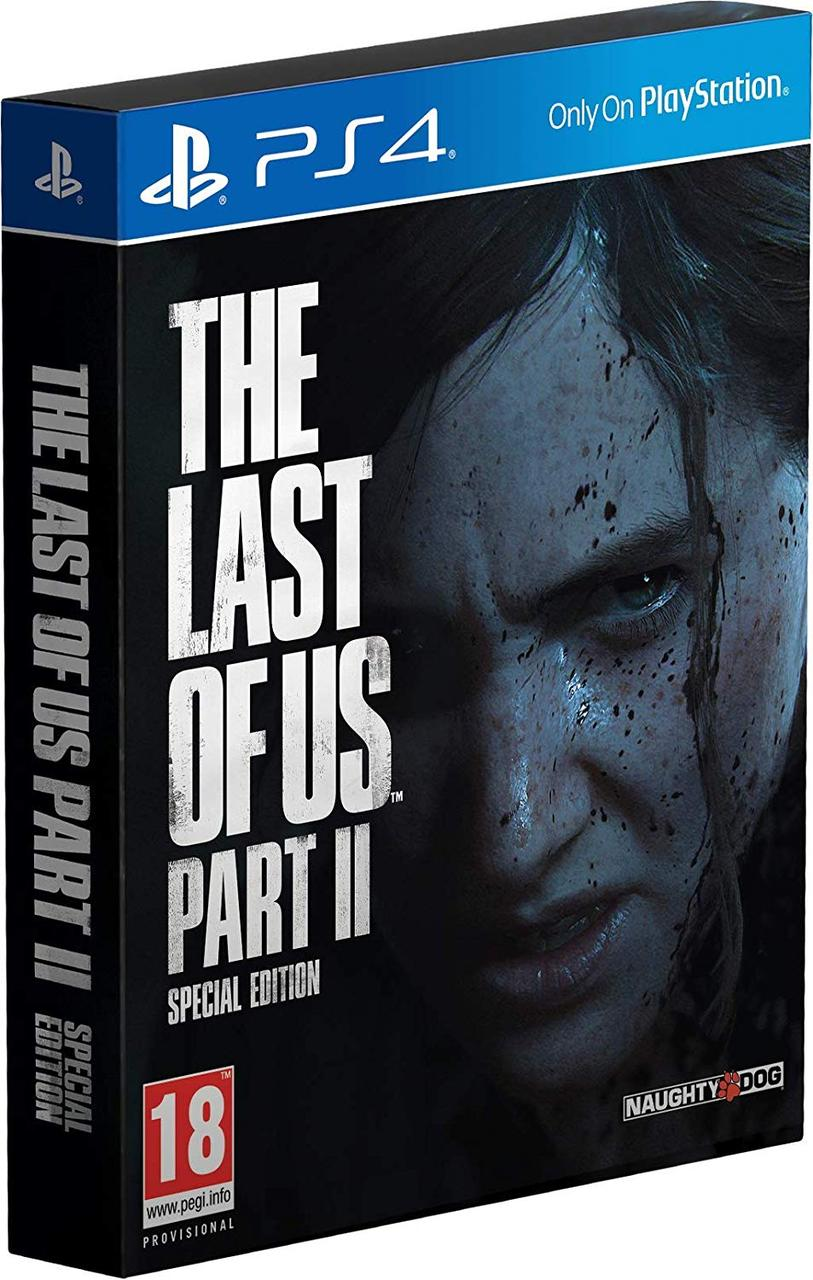 The Last of Us Part II Special Edition (русская версия) PS4