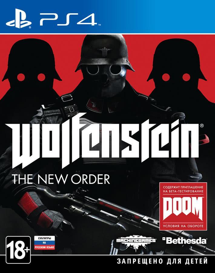Wolfenstein The New Order (російські субтитри) PS4