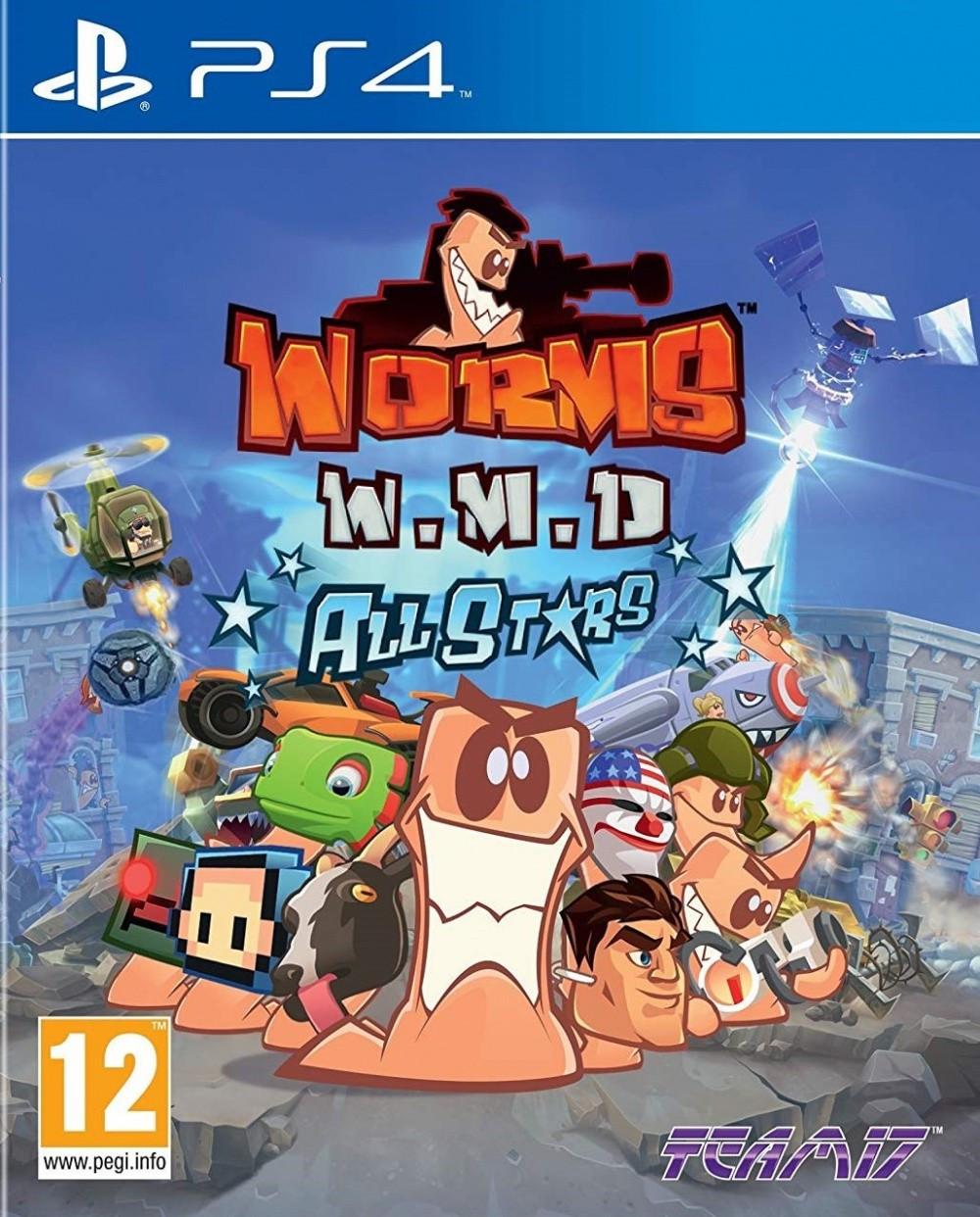 Worms WMD All Stars (російські субтитри) PS4