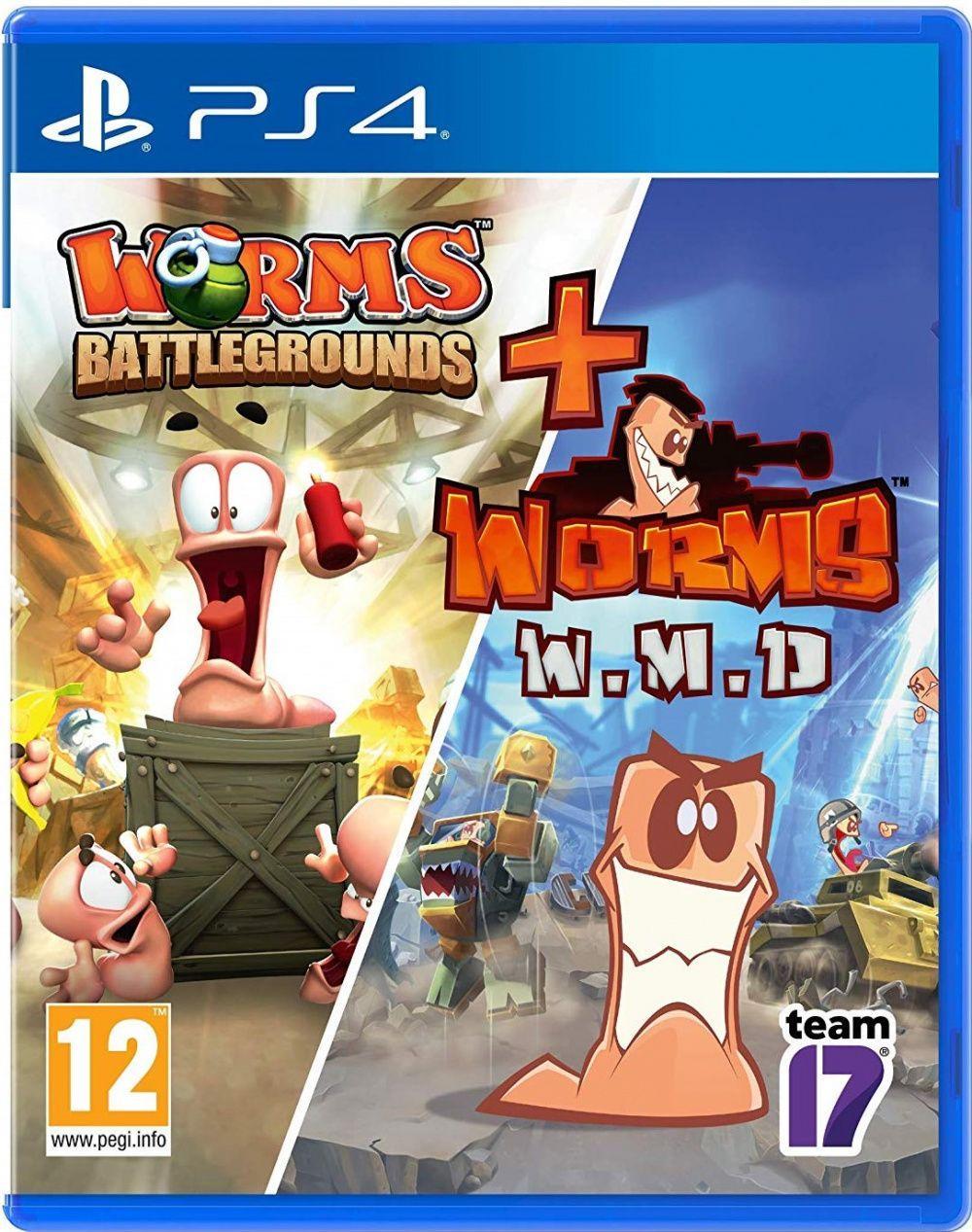 Worms Battlegrounds + Worms WMD (російські субтитри) PS4