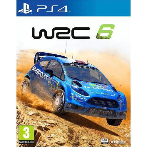 WRC 6 (англійська версія) PS4