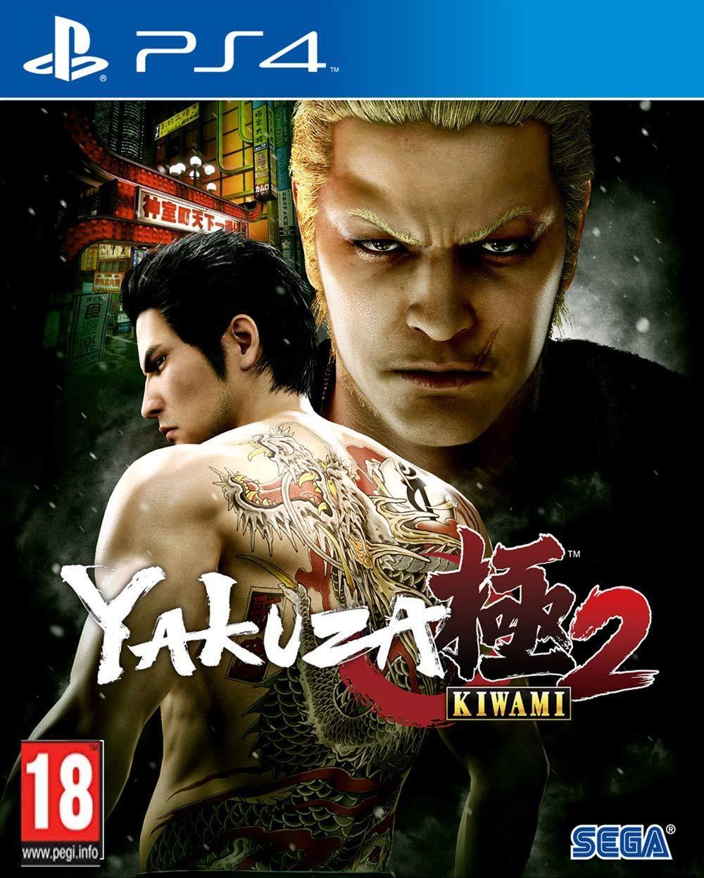 Yakuza Kiwami 2 (английская версия) PS4