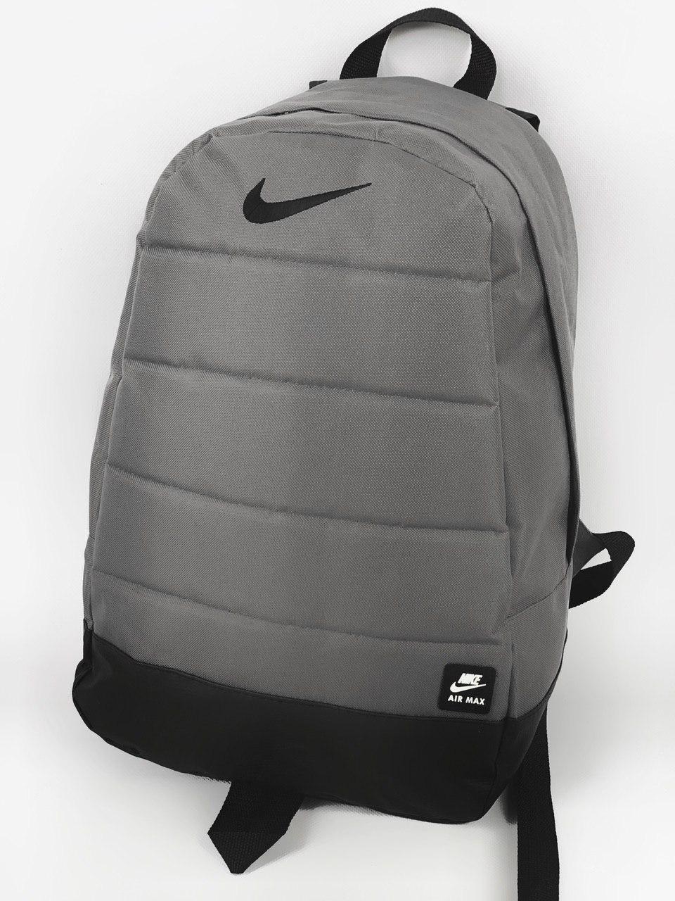 Городской рюкзак серый