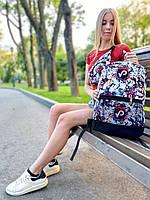 Городской стильный молодежный рюкзак с принтом TikTok