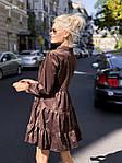 """Жіноча сукня """"Мікровельвет"""" від СтильноМодно, фото 8"""