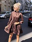 """Жіноча сукня """"Мікровельвет"""" від СтильноМодно, фото 4"""