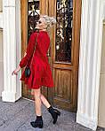 """Жіноча сукня """"Мікровельвет"""" від СтильноМодно, фото 6"""