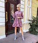"""Жіноча сукня """"Мікровельвет"""" від СтильноМодно, фото 3"""