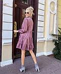 """Жіноча сукня """"Мікровельвет"""" від СтильноМодно, фото 7"""