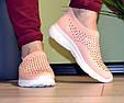 Кросівки жіночі бежеві м'які і зручні текстиль b-282, фото 10