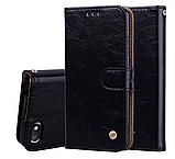 Чехол-книжка Xiaomi Redmi 9 с силиконовым бампером и отделением для карточек Цвет Чёрный, фото 3