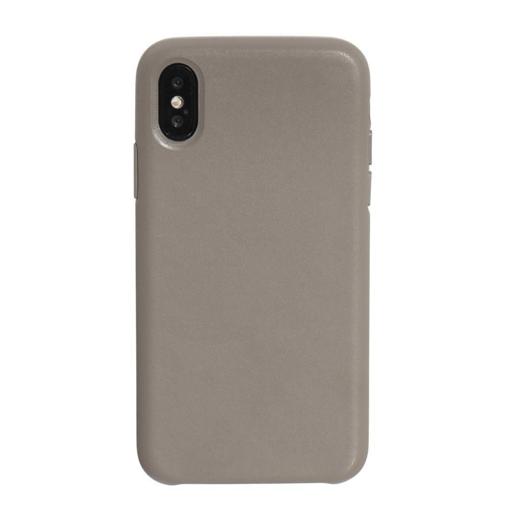 Чехол Leather Case for Apple Iphone X