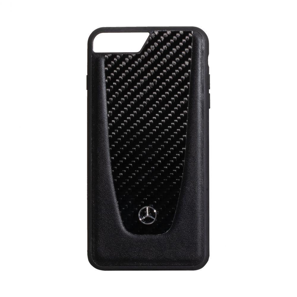 Чехол Mercedes-Benz Carbon for Apple Iphone 8 Plus