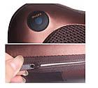 Массажная роликовая подушка массажер в машину Massage pillow  для спины и шеи, фото 5