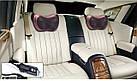 Массажная роликовая подушка массажер в машину Massage pillow  для спины и шеи, фото 9