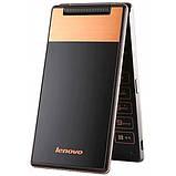 Мобильный смартфон раскладушка Lenovo A588t gold, фото 2