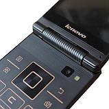 Мобильный смартфон раскладушка Lenovo A588t gold, фото 4