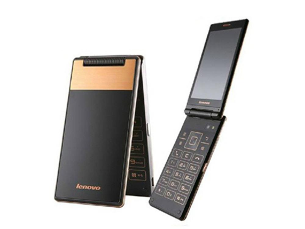 Мобильный смартфон раскладушка Lenovo A588t gold