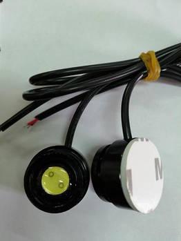 Глазки-линзы на скотче LED D=20мм 1.5W 12V BT (2531) (2шт)