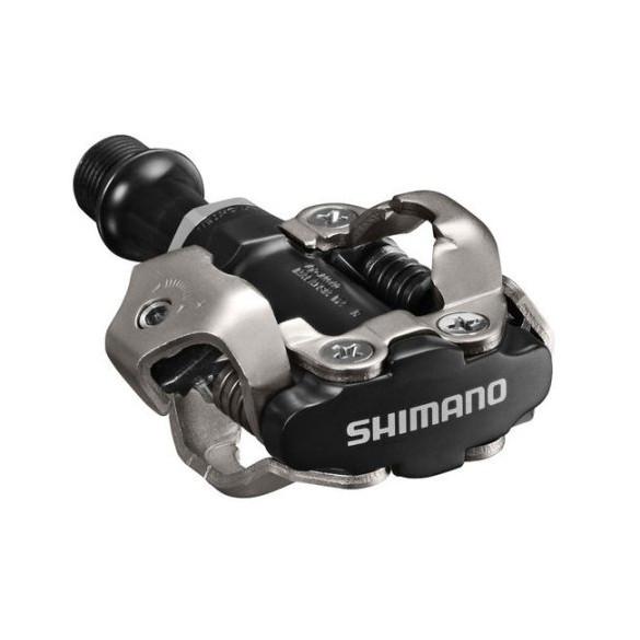 Контактные педали Shimano PD-M540 MTB SPD, черные