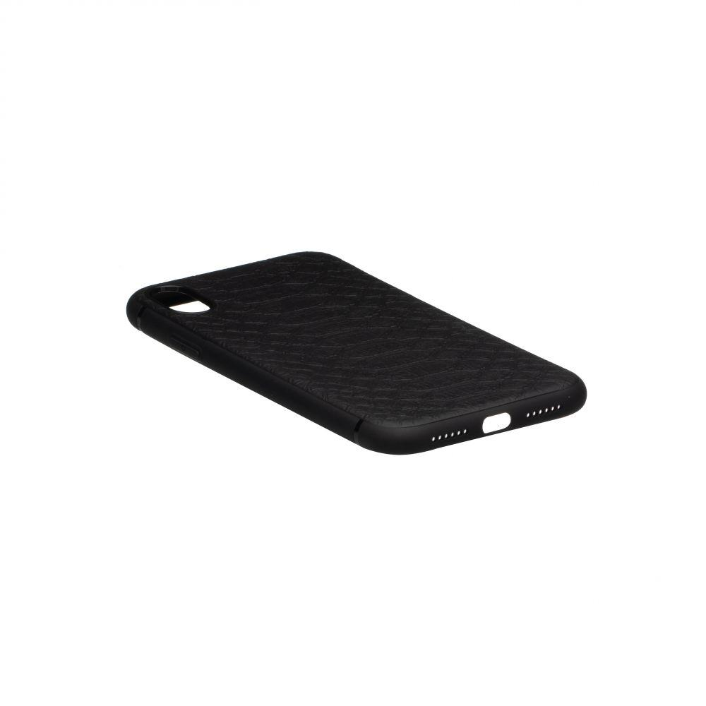 Чехол TPU Leather Croco with Magnit for Apple Iphone Xr
