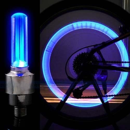 LED подсветка для колес велосипеда, мото, авто 2 шт в упаковке