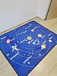 """Безкоштовна доставка! Килим в дитячу """"Парад планет"""" утеплений килимок мат (1.5*2 м), фото 2"""