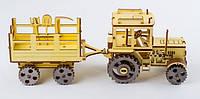 3D конструктор Трактор ekoGOODS фанера