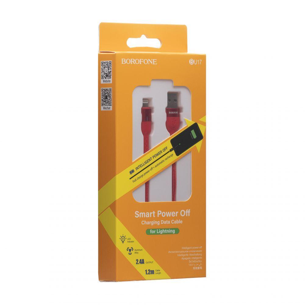 USB Borofone BU17 Starlight Lightning