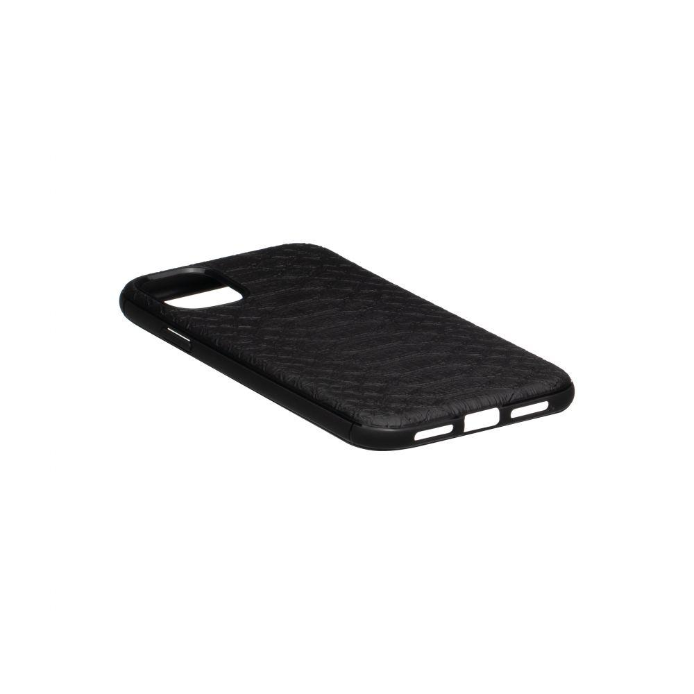 Чехол TPU Leather Croco with Magnit for Apple Iphone 11