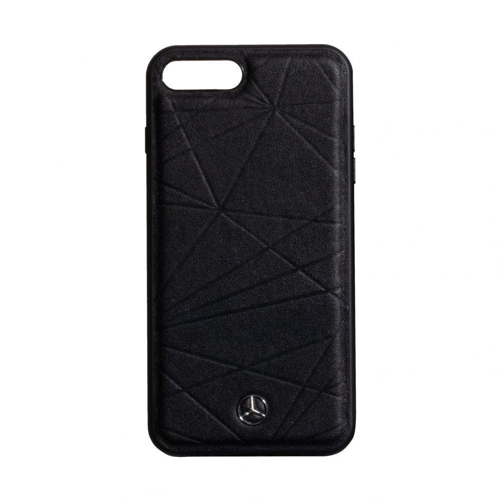 Чехол Mercedes-Benz Leather for Apple Iphone 7 Plus / 8 Plus