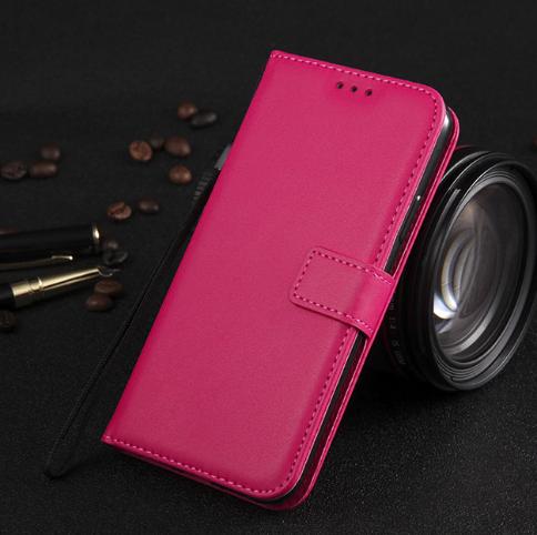 Чохол - книжка для Xiaomi Redmi 9A з силіконовим бампером і відділенням для карток Колір Рожевий