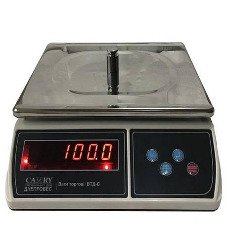 Весы фасовочные Днепровес ВТД-С (15 кг), фото 2