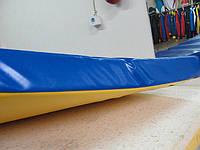 Мат спортивный, матик гимнастический,  наполнитель - мягкий поролон 1м на 1м , 1м на 2м