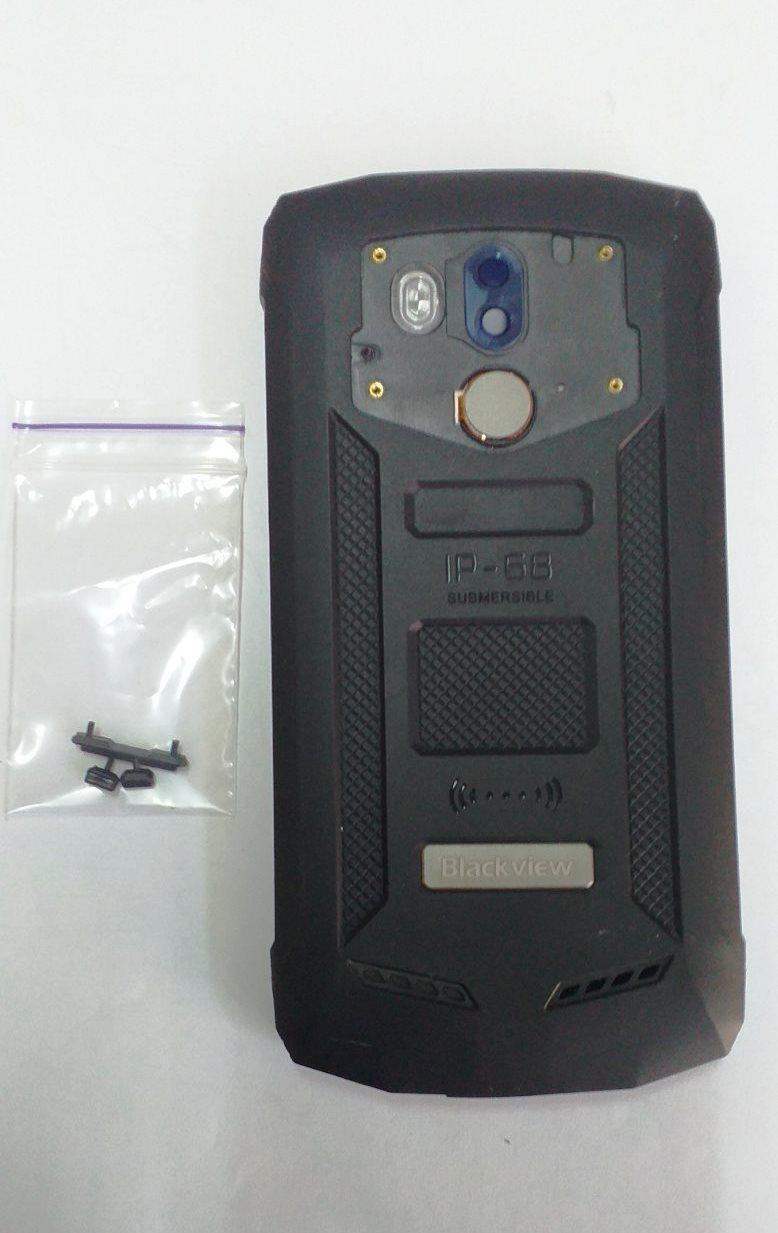Корпус сканер отпечатка стекло камеры  заглушка USB Б/У Blackview BV5800