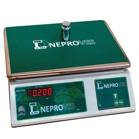 Весы фасовочные Днепровес ВТД-ФЛД (15 кг), фото 2