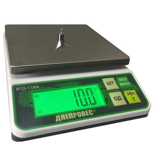 Весы фасовочные Днепровес ВТД-Т3ЖК (6 кг)
