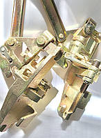 Механізм замка дверей КамАЗ 5320 старого зразка комплект 2 шт лівий і правий / 5320-6105020/021