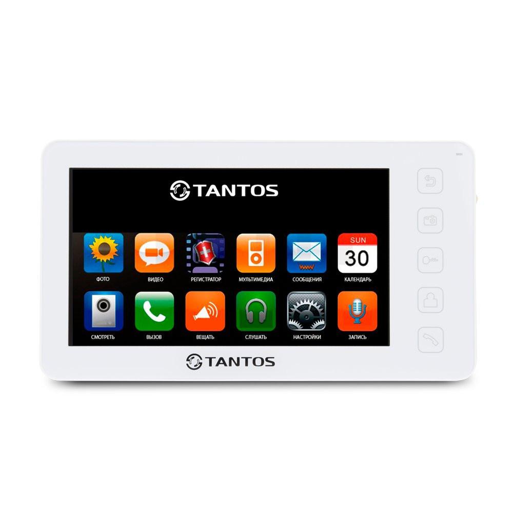 """Відеодомофон Tantos Prime 7"""" (White)"""