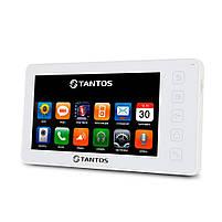 """Відеодомофон Tantos Prime 7"""" (White), фото 2"""