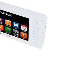"""Відеодомофон Tantos Prime 7"""" (White), фото 3"""