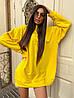 Женское теплое плать-худи с капюшоном (р. 42-46) к5PL1581